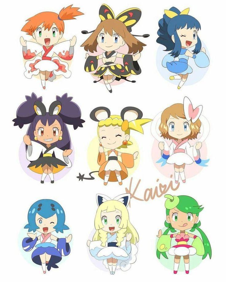 Pokemon Ladies by MuchBlock10