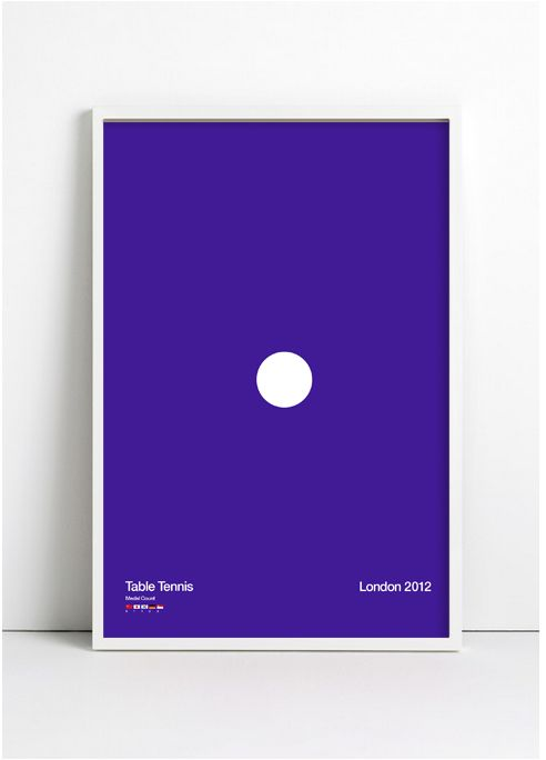 Table Tennis - Limited Edition Poster