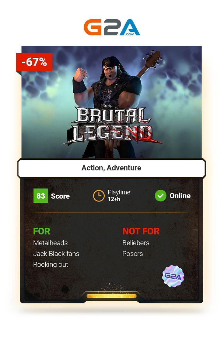Brutal Legend #action #adventure #gaming