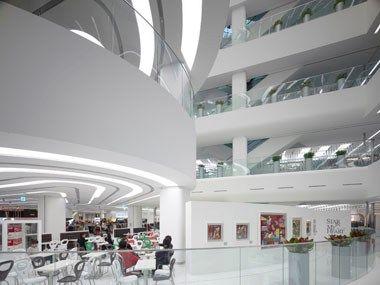 Galleria Centercity by UNStudio in Cheonan, South Korea. Interior Photo: Christian Richters