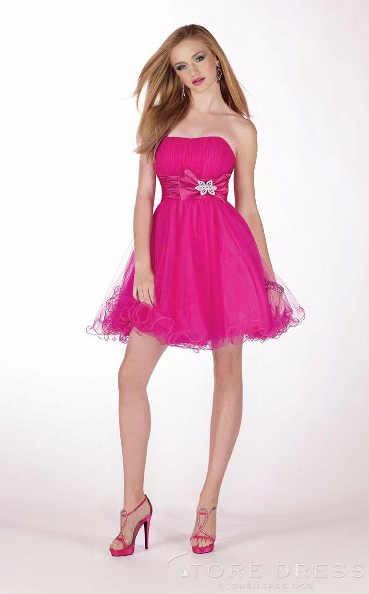 Mejores 12 imágenes de short prom dresses en Pinterest | Vestidos de ...