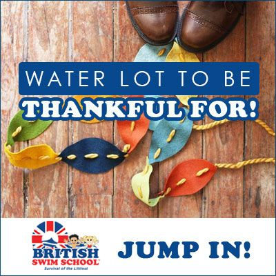 Water Lot to Be Thankful For this Year!  #thankful #thanksgiving #GoSwim