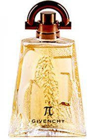 Pi FOR MEN by Givenchy - 3.4 oz EDT Spray by Givenchy. $66.98. An alternative to the citrus scents of the 90's, Pi cologne is a celebration of what makes a man seductive - his intelligence, courage, and contributions. Pi is more than a name, it's a symbol. The masculine bottle, designed by Serge Manseau, has a hi-tech closure system and plays on the contrast between pure lines and perfect proportion. Designed by Givenchy in 1998, Pi cologne is a refined, oriental, woody fragran...
