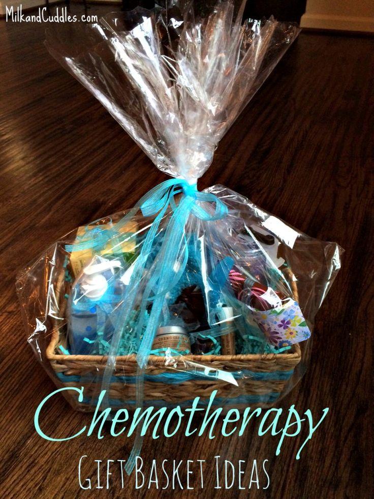 Gift Basket Ideas – for someone going through Chemo.   Milk & Cuddles