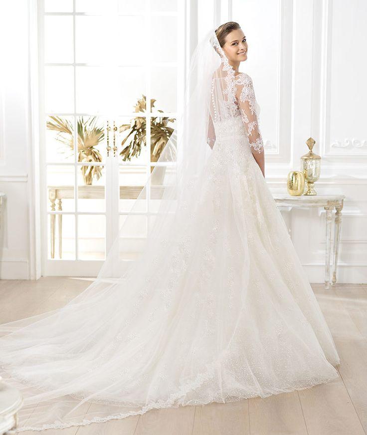 29 best dresses images on pinterest pronovias wedding dresses pronovias presents the lavens wedding dress glamour 2014 pronovias junglespirit Gallery