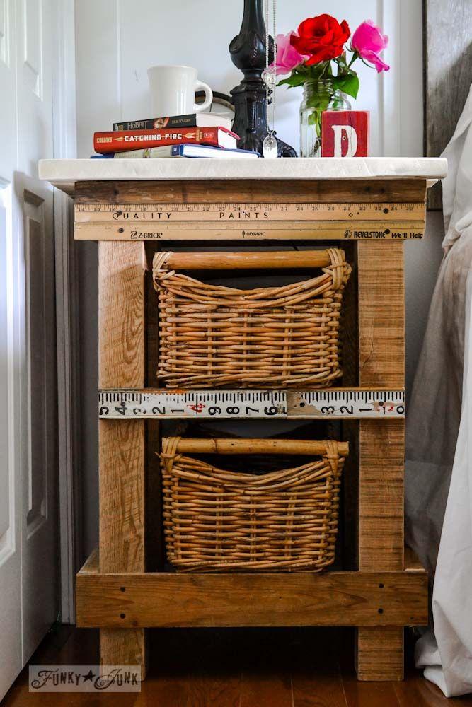 The 25 best basket drawers ideas on pinterest bathroom for Funky junk home decor newfoundland