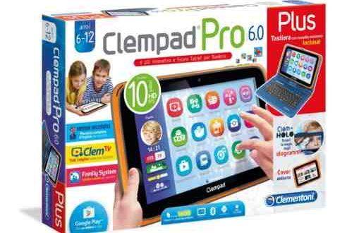 Regalo Natale Bambino Clementoni ClemPAD 6.0 | Allmobileworld.it