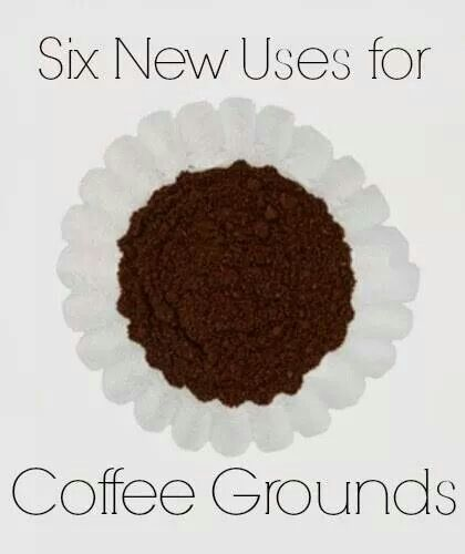 other uses for coffee grounds
