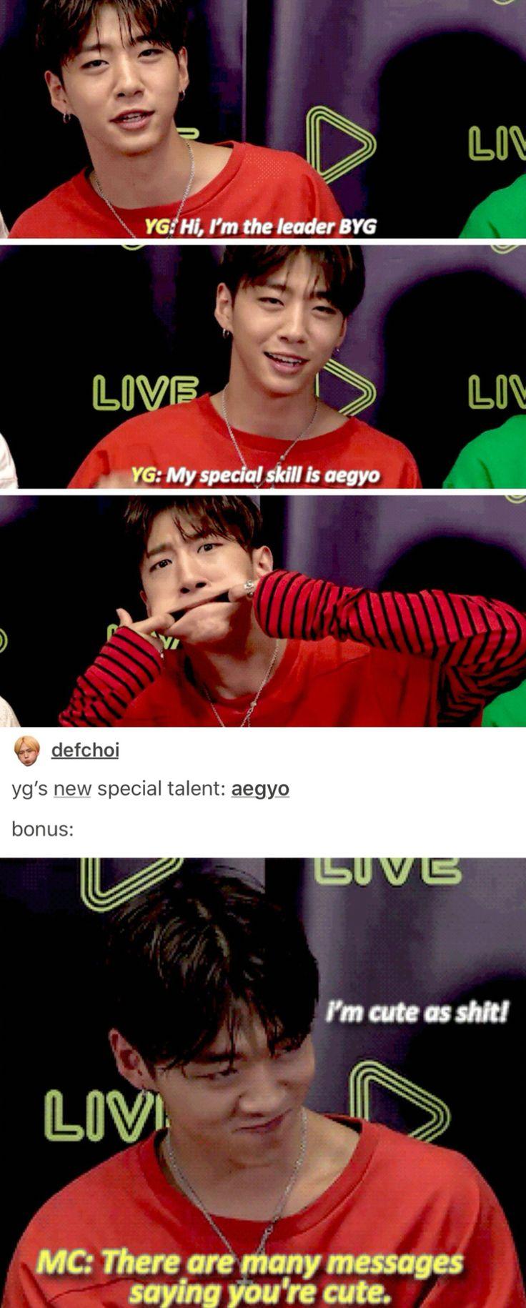 I feel like... Yongguk is ruining my bias list<<Yongguk IS my bias list.