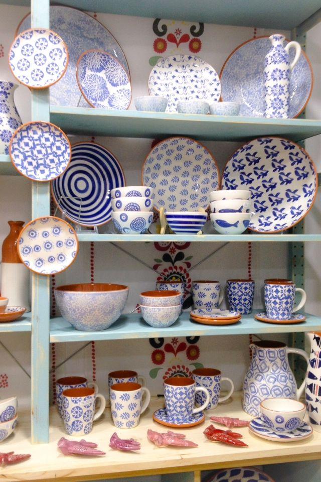 #ceramics #blue #plates #portugal #sintra # magicshop
