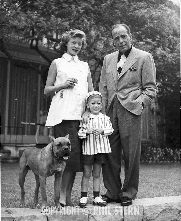 humphrey bogart and lauren bacall relationship with children