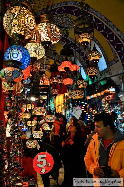 Istanbul...I want to go back!  The Sultan's bazaar...