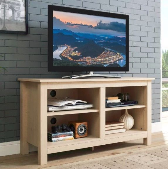 Large Wooden TV Stand Country Cabinet Media Storage Shelf Unit Living Furniture
