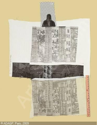 Robert Rauschenberg. Even though he became a mean old drunk, he was a genius. This link leads to a collection of works I had mostly not seen. Very good.