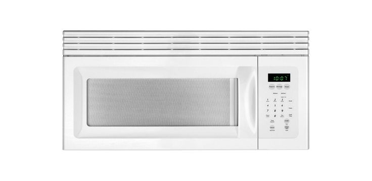 Frigidaire MWV150K 1.5 Cubic Foot Over-The-Range Microwave with Ready-Select Con White Microwave Ovens Microwave Over-the-Range