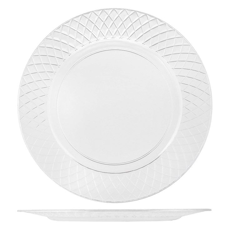 102 crystal clear plastic plates 6 25 inch
