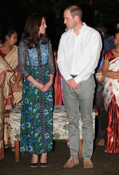 Kate Middleton Photos - The Duke & Duchess of Cambridge Visit India & Bhutan - Day 3 - Zimbio