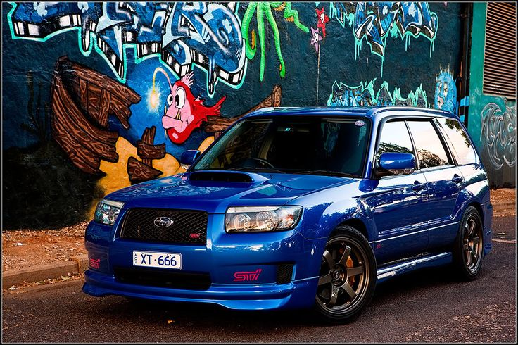 never been into fozzie's much. But i could live with the sti version. Just thinking of all those filthy offroad adventures :D Love those rota grids