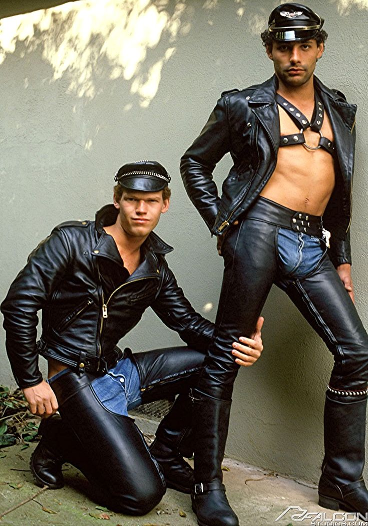 Scott O'Hara & Nik Dimon, in Ramcharger Leather jacket