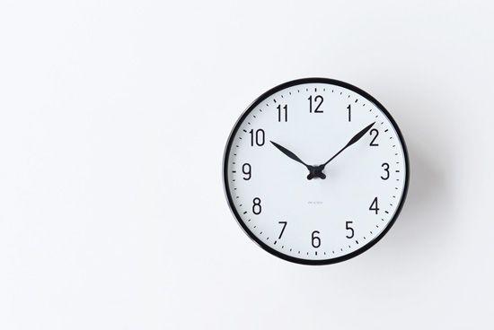 ARNE JACOBSEN/アルネ・ヤコブセン/STATION/壁掛け時計(16cm)