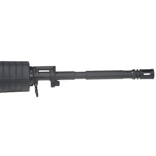 The Bushmaster .223 Remington O.R.C.® Semiautomatic Rifle is designed with a 6-position, telescoping stock and features a 30-round magazine.