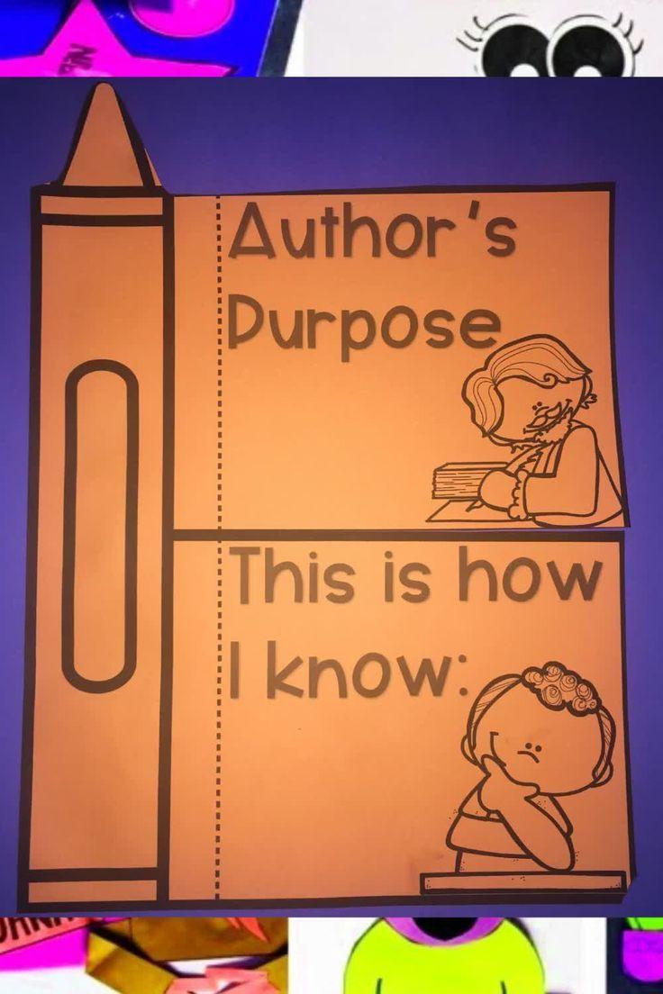 hight resolution of Author's Purpose Activities   Authors purpose activities
