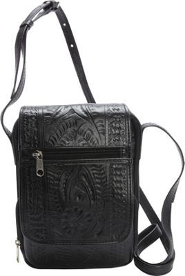 Ropin West Crossover Purse Black - via eBags.com!