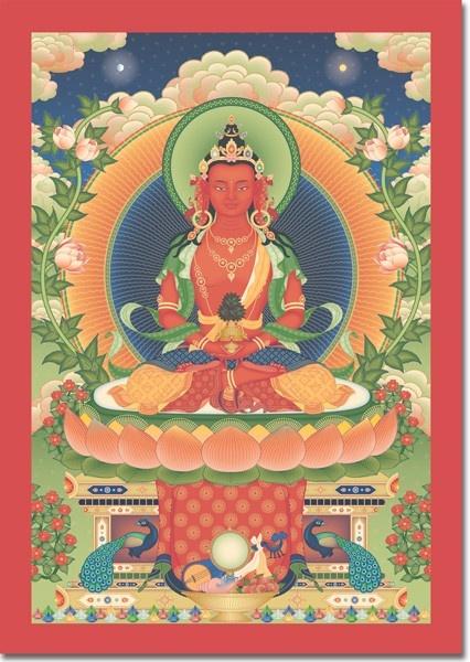 Amitayus el Buda de la larga vida
