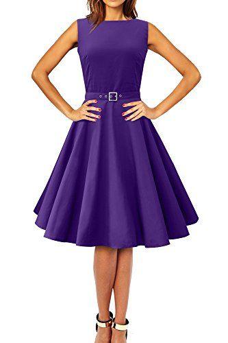 Black Butterfly 'Audrey' Vintage Clarity 50's Dress (Cadbury Purple, US 10) Black Butterfly Clothing http://www.amazon.com/dp/B00GR5H2YE/ref=cm_sw_r_pi_dp_9tGHvb1BPXAV3