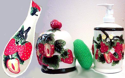 Https Www Pinterest Com Hisonly13 Strawberry Kitchen Decor