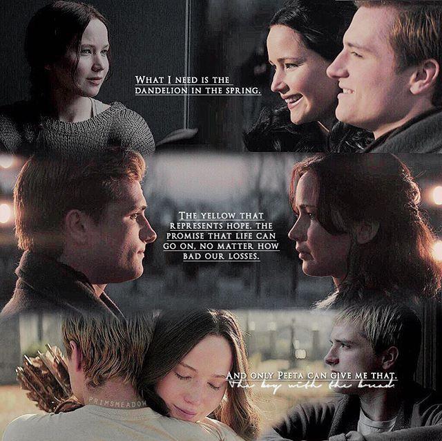 Peeta And Katniss Hunger Games Hunger Games Jennifer Hunger