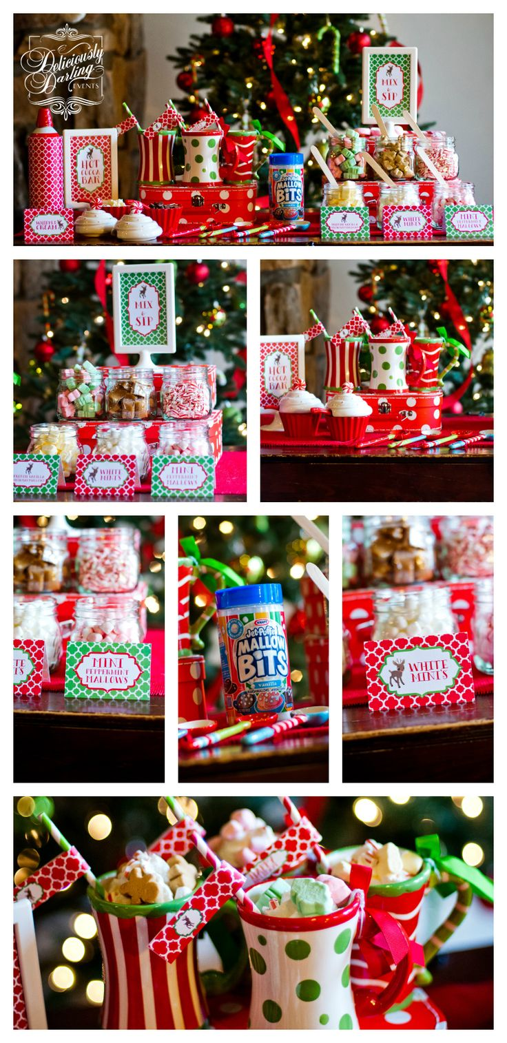 Deliciously Darling Events | Holiday Hot Coco Fun