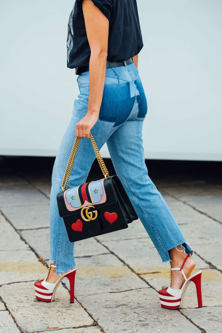 September 21, 2016 Tags Milan, Jeans, Gucci, Bags, Vetements, SS17 Women's