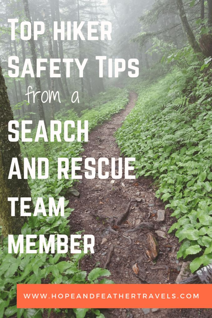 What Search and Rescue Groups Need Each Hiker to Know