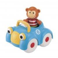 ELC Monty Monkey Car - Interactive Toys - Toys | Baby Bunting