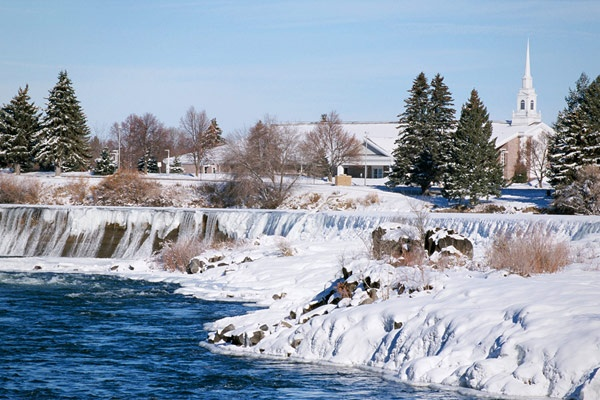 Idaho Falls, Idaho (Eastern Idaho's largest city, a gateway to nearby recreation areas like Yellowston, has a revitalized historic downtown district.)
