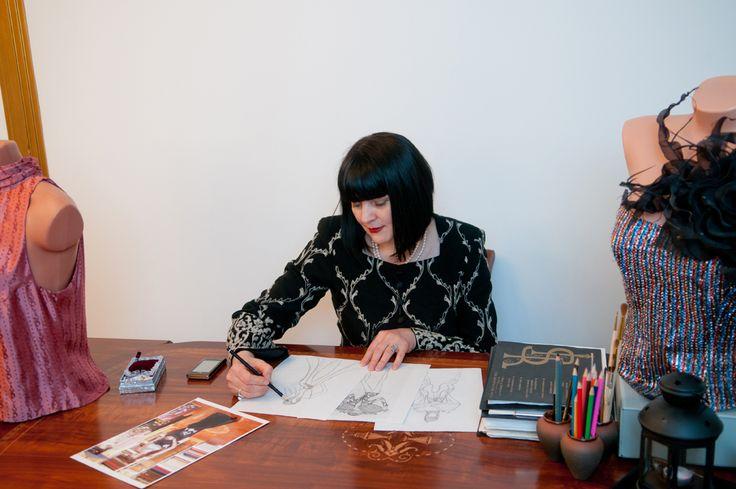 Fashion designer Raiss Schramm