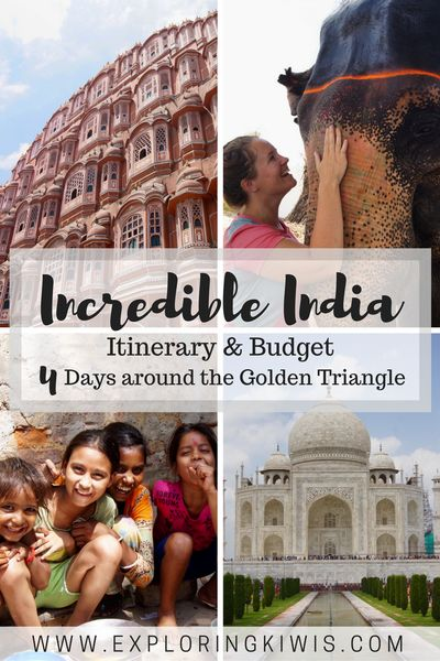 Golden Triangle itinerary self drive India
