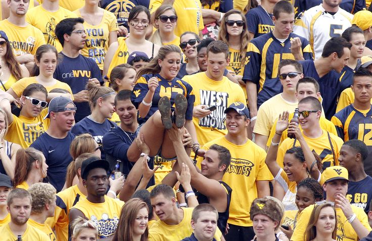 #1 West Virginia University, Morgantown, W.Va / Playboy's Top Party Schools 2013;  #4 Ranked top party school 2013-2014 by  Princeton Review; also #5 of the 20 most fun colleges in America 2014 by Business Insider