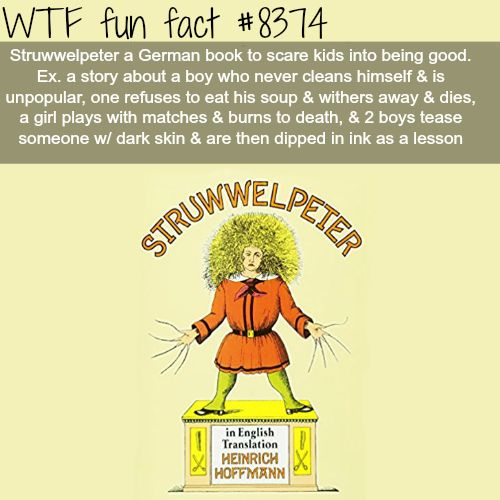 Struwwelpeter  WTF fun facts