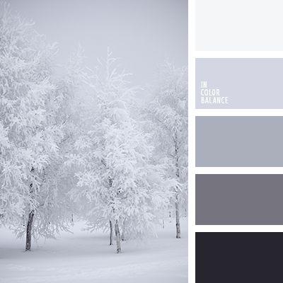бежевый, белый, графитовый серый, оттенки зимы, оттенки серого, палитра для зимы 2016, палитра зимы, почти-черный, светло серый, серый, цвет снега, цветовая палитра для зимы, цветовое сочетание для зимы, черны.