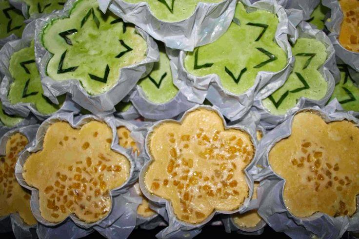 Kue khas Banjarmasin : Bingka Telur olahan Ibu Hj.Uning