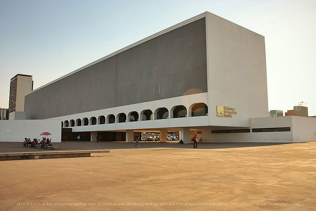 Biblioteca Nacional de Brasília | Oscar Niemeyer