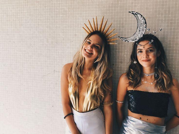 sun and moon halloween costumes