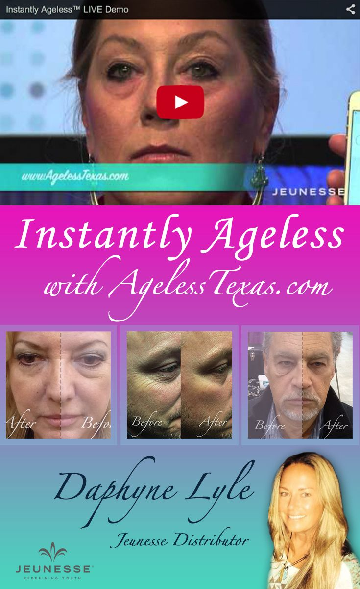 Instantly Ageless Live Demo by AgelessTexas.com