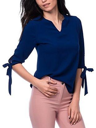 Womenice Blusa (Azul)