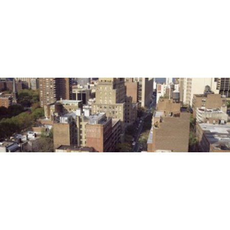 Buildings in a city Chelsea Manhattan New York City New York State USA Canvas Art - Panoramic Images (36 x 12)