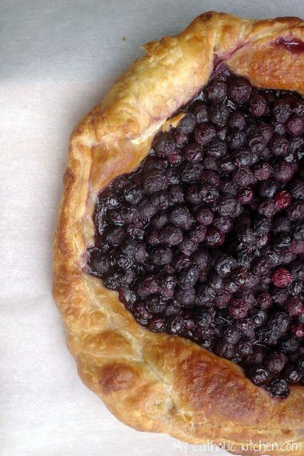 Blueberry Tart for Saint Issac Jogues – My Catholic Kitchen