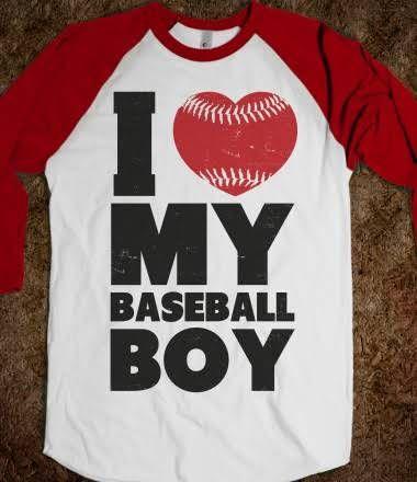 I Love My Baseball Boy