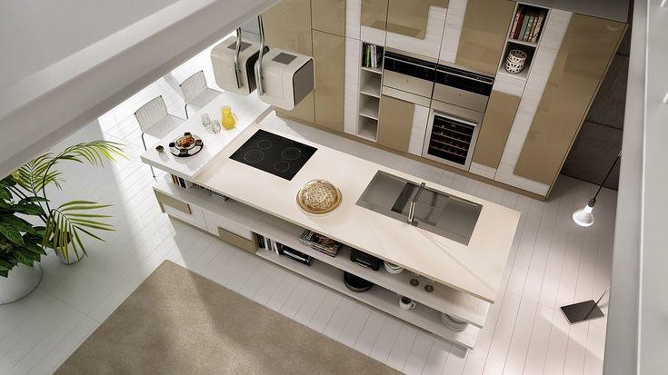 Минималистский дизайн мужской кухни